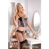 Cottelli Collection Leo Basque Set