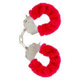 Furry Fun Cuffs Red