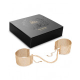 Bijoux Desir Metallique Handcuffs Gold