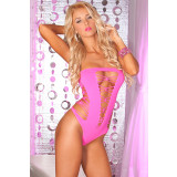 Pink Lipstick JUICEBOX SEAMLESS BODYSUIT