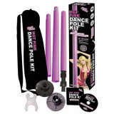 Hot Pink Dance Pole Kit