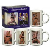 Strip mug woman
