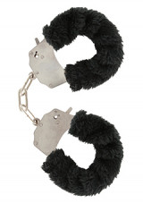 Furry Fun Cuffs Black