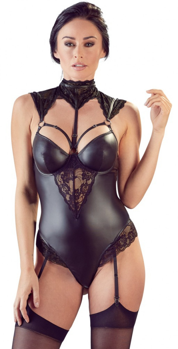 Cottelli Collection Body with Suspenders L