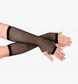 Long Net Gloves
