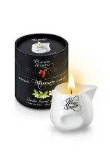 Plaisiris Secrets Massage Candle The Blanc