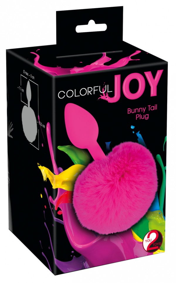 Colorful Joy Bunny