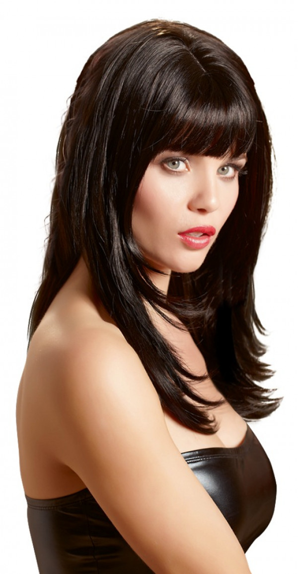 Wigged Love Long Black Wig