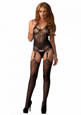Leg Avenue Jacquard Net Bodystocking