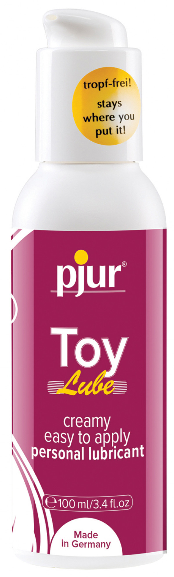 Woman Toy Lube