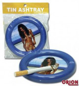 """Tin ashtray"""