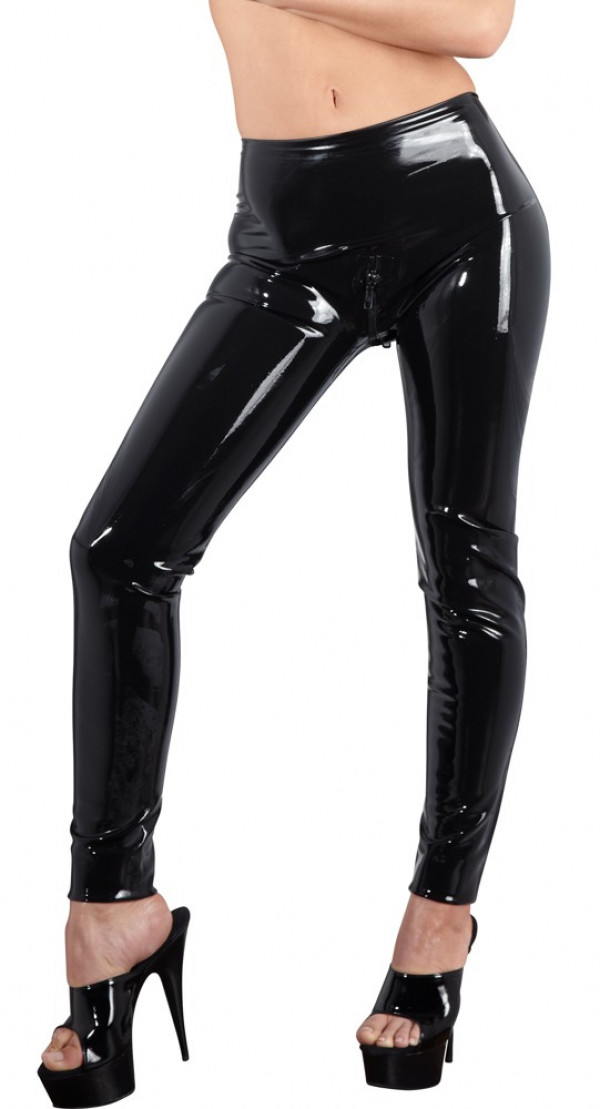 Late X Latex Leggings