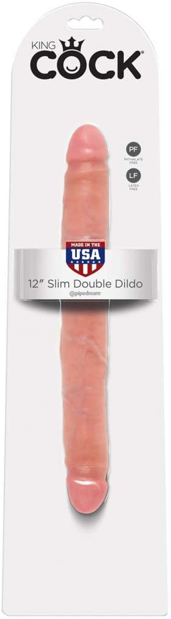 "12"" Slim Double Dildo"