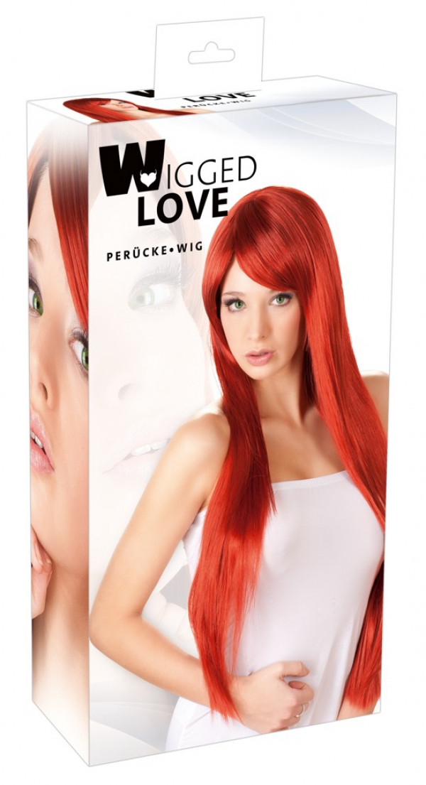 Wigged Love Red Wig